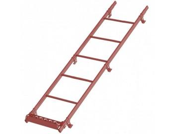 Лестница кровельная для металлочерепицы, 1,8м