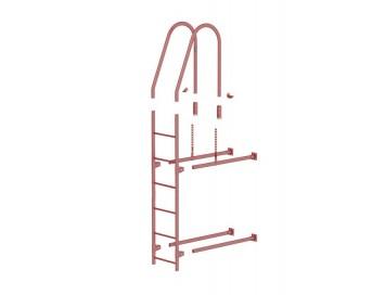 Лестница фасадная, 3,0м