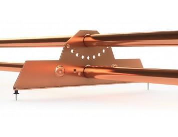 Снегозадержатель трубчатый для металлочерепицы, 3м