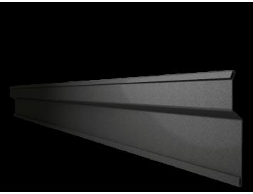 Планка примыкания накладная S6