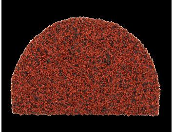Заглушка полукруглого конька торцевая Luxard