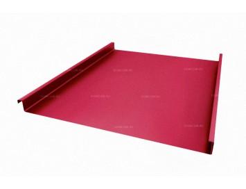 Панель двойного стоячего фальца Pural с покрытием Полиуретан и толщиной стали 0,50 мм