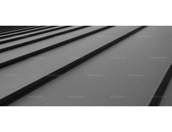 Фальцевая сталь Pural с покрытием Полиуретан и толщиной стали 0,50 мм
