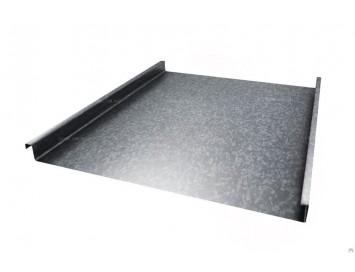 Панель двойного стоячего фальца из оцинкованной стали, толщина 0,55 мм