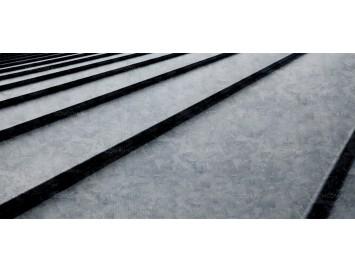 Фальцевая сталь оцинкованная, толщина 0,40 мм