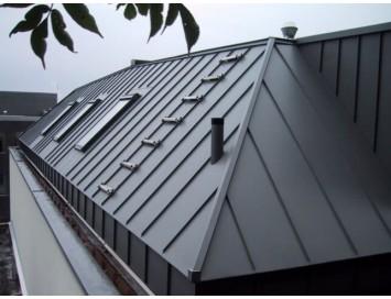 Фальцевая сталь оцинкованная, толщина 0,65 мм