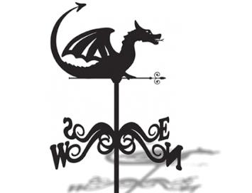 Флюгер Большой Дракон