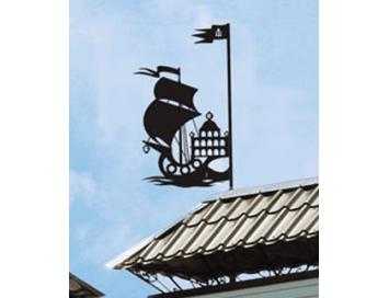 Указатель ветра Корабль