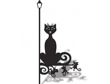 Указатель ветра Кошка и мыши