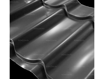 Металлочерепица MONTERREY Norman с покрытием Полиэстер и толщиной стали 0.50мм