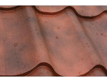 Металлочерепица CLASSIC Safari с покрытием Полиэстер и толщиной стали 0.50мм