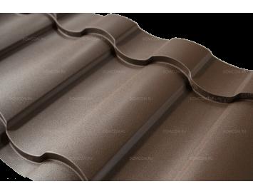 Металлочерепица KREDO DRAP с покрытием Матовый Полиэстер и толщиной стали 0.45мм