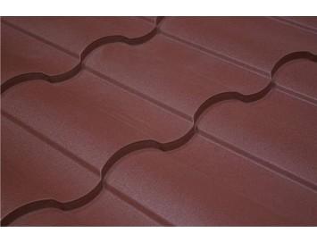 Металлочерепица KREDO Polydexter Mat с покрытием Матовый Полиуретан и толщиной стали 0.50мм