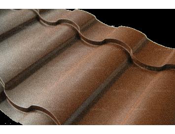 Металлочерепица KREDO Pural с покрытием Полиуретан и толщиной стали 0.50мм