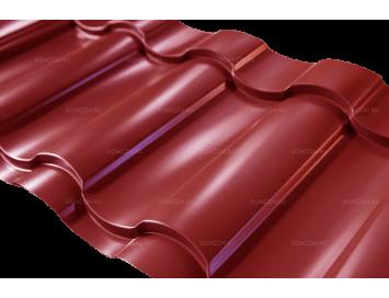 Металлочерепица KREDO Satin с покрытием Полиэстер и толщиной стали 0.50мм