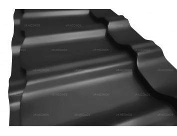 Металлочерепица KVINTA Plus с покрытием Полиэстер и толщиной стали 0.45мм