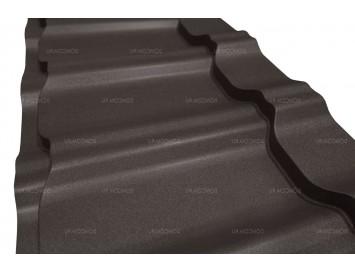 Металлочерепица KVINTA Plus DRAP с покрытием Матовый Полиэстер и толщиной стали 0.45мм