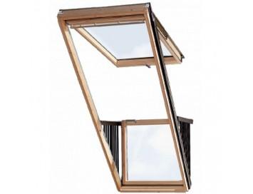 Окно-балкон GDL Cabrio 114x252см