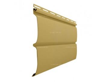 Виниловый сайдинг Двойное оцилиндрованное бревно Block-house Premium Colors