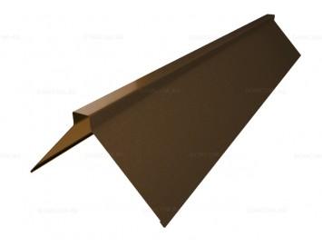 Планка конька плоского Drap с покрытием Матовый Полиэстер