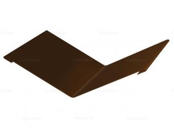 Планка ендовы верхней с покрытием Полиэстер