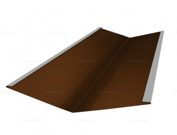 Планка ендовы нижней с покрытием Полиэстер
