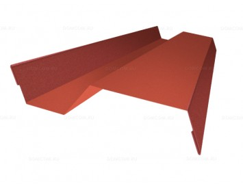 Планка примыкания внакладку Pural с покрытием Полиуретан