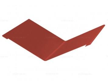 Планка ендовы верхней Velur с покрытием Матовый Полиэстер