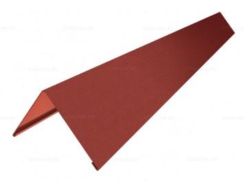 Планка конька плоского Velur с покрытием Матовый Полиэстер