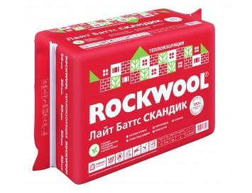 Негорючий базальтовый утеплитель Rockwool Light Batts Scandic
