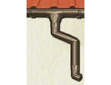 Стальная водосточная система Aquasystem, 125/90 c покрытием Pural  Matt