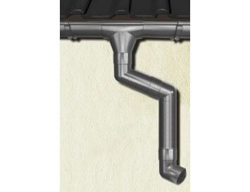 Стальная водосточная система Aquasystem, 150/100 c покрытием Pural  Matt