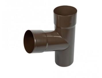 Тройник трубы, D100мм, с покрытием Pural