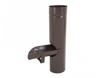 Водосборник, D90мм, с покрытием Pural