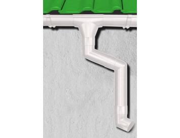 Стальная водосточная система Aquasystem, 150/100 c покрытием Pural
