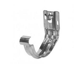 Крюк желоба универсальный, D125мм, оцинкованная сталь