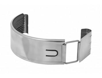 Соединитель желоба, D125мм, оцинкованная сталь
