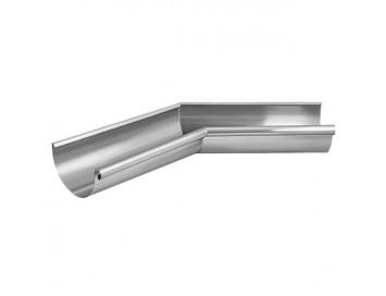 Угол желоба 135°, D125мм, оцинкованная сталь