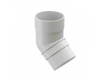 Колено соединения трубы 45°, D85мм, Premium Plombir