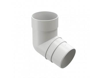 Колено соединения трубы 72°, D85мм, Premium Plombir
