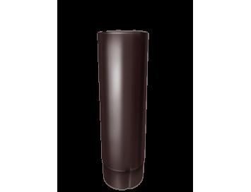 Труба водосточная, D90мм, длина 3000мм с покрытием HDX®Granite