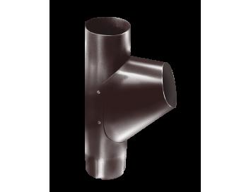 Тройник трубы, D90мм, с покрытием HDX®Granite