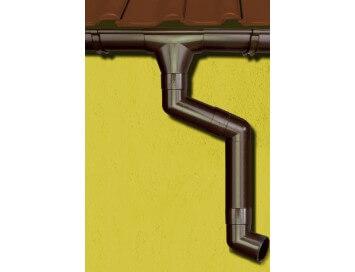 Стальная водосточная система Grand Line, 150/100 c покрытием HDX°Granite