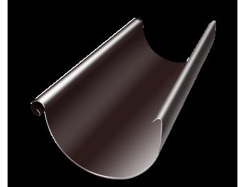Желоб водосточный, D150мм, длина 3000мм с покрытием HDX®Granite